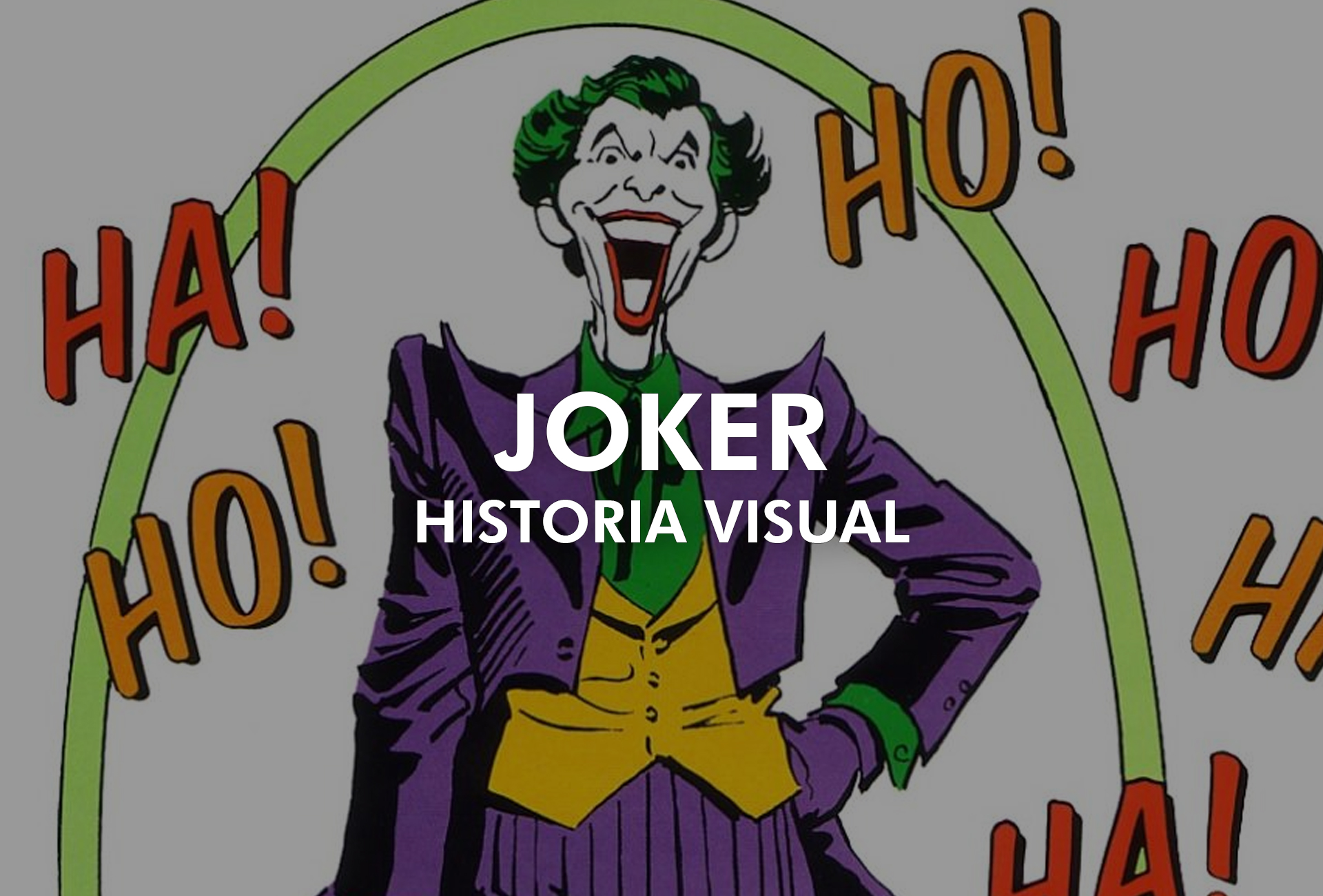 Joker – Historia visual