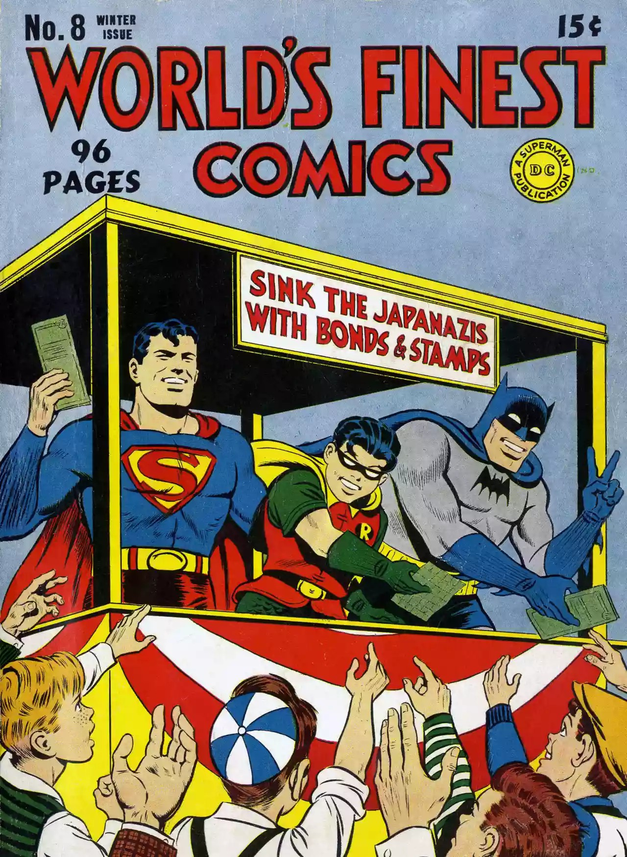 Portadas World's Finest Comics