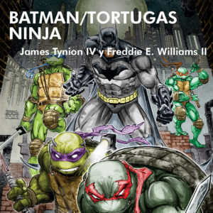 batman-tortugas-ninja-turtles-comic-reseña-dc-idw-tv-show-joker-harley-quinn